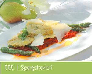 Kochschule Frankfurt Rezepte Spargelravioli